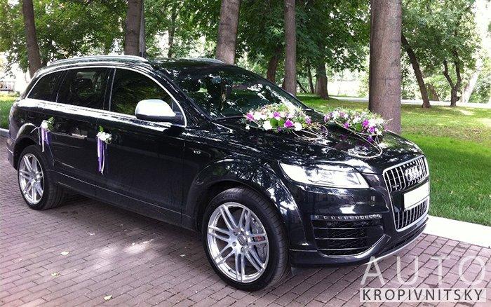 Аренда Audi Q7 на свадьбу Кропивницкий