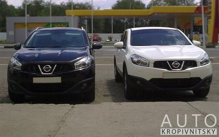 Аренда Nissan Qashqai на свадьбу Кропивницкий