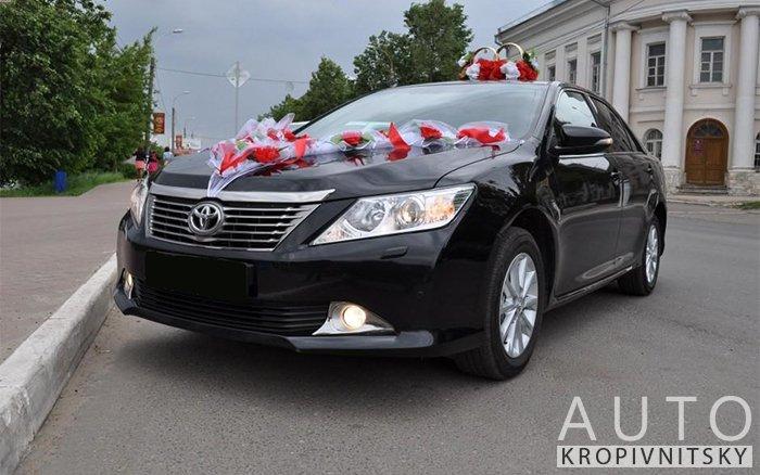 Аренда Toyota Camry 50 на свадьбу Кропивницкий