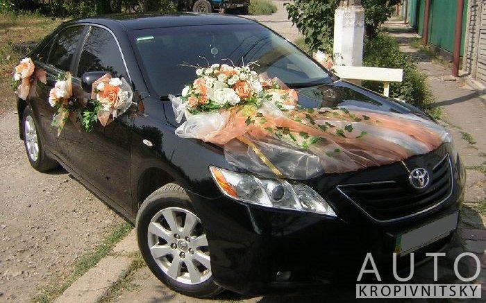 Аренда Toyota Camry 40 на свадьбу Кропивницкий