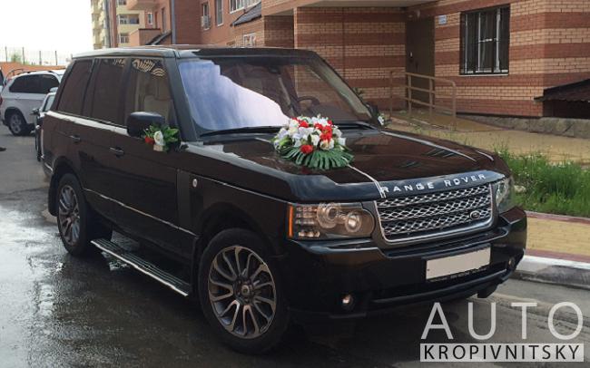 Аренда Range Rover на свадьбу Кропивницкий