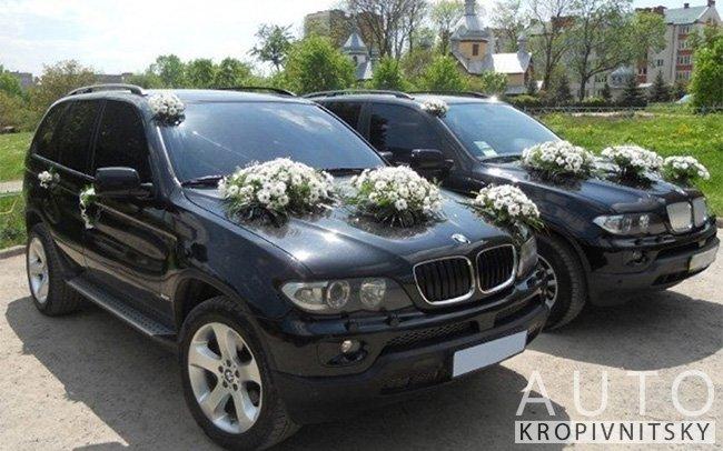 Аренда BMW X5 E53 на свадьбу Кропивницкий