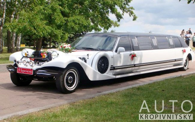 Аренда Лимузин Excalibur на свадьбу Кропивницький