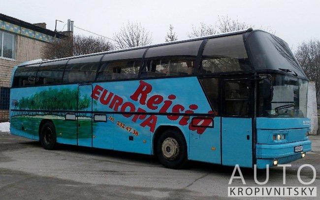 Аренда Автобус Neoplan 312 на свадьбу Кропивницкий