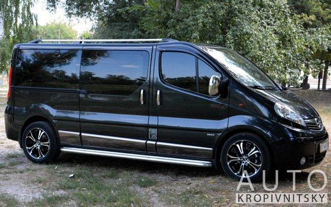Аренда Микроавтобус Opel Vivaro на свадьбу Кропивницкий