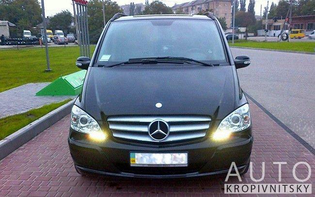 Аренда Микроавтобус Mercedes Viano на свадьбу Кропивницкий