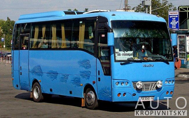 Аренда Автобус Isuzu Turkuaz на свадьбу Кропивницкий