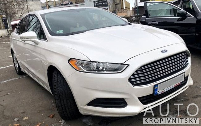 Аренда Ford Fusion на свадьбу Кропивницький