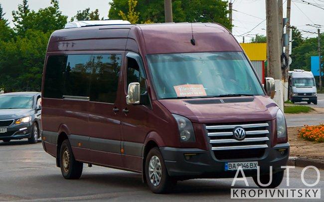Аренда Микроавтобус Volkswagen Crafter на свадьбу Кропивницкий