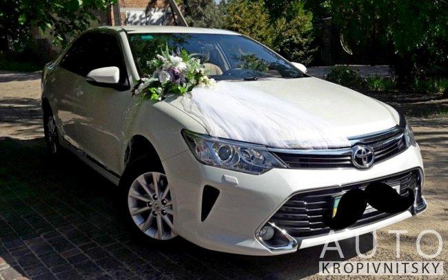 Аренда Toyota Camry 55 на свадьбу Кропивницкий